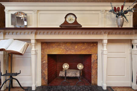 223CommAve1Fireplace